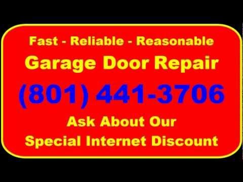 Garage Door Repair South Jordan UT   (801) 441-3706