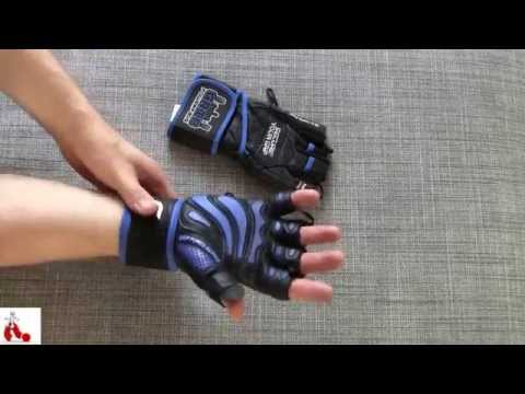Elite Leather Gym Gloves With Wrist Support Review