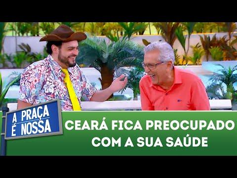 Ceará fica preocupado coma sua saúde | A Praça É Nossa (22/11/18)