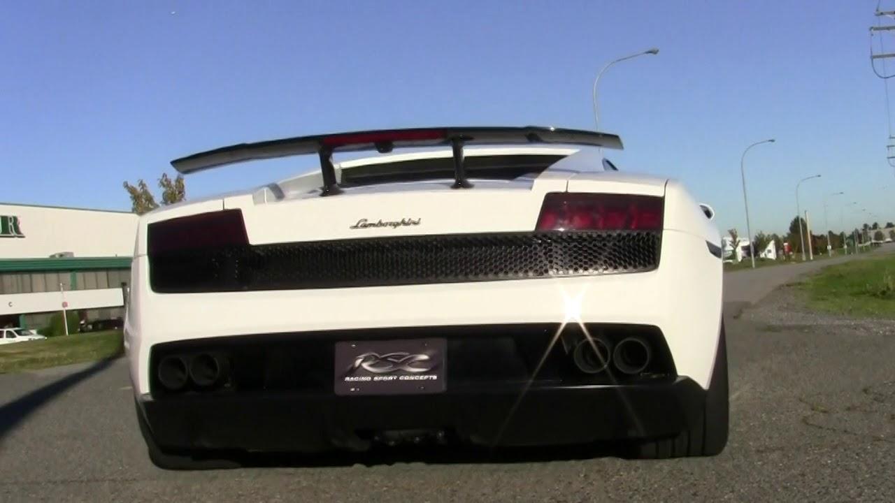 Lamborghini Gallardo Exhaust Sound Lp560 Youtube