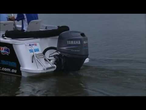 2 stroke vs 4 stroke - Yamaha outboard F60 shootout - YouTube