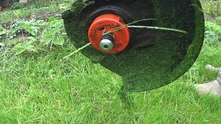 Бесплатная леска для триммера / DIY rope for lawn trimmer