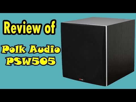 Polk Audio PSW505 12 Inch Powered Subwoofer Reviews