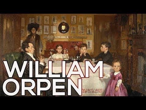William Orpen: A collection of 290 paintings (HD)