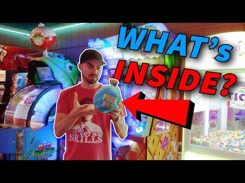 What's Inside The Mystery Prize Bag? Arcade Win ArcadeJackpotPro