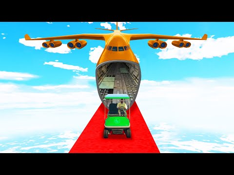 Don't Get CAUGHT By The PLANE! (GTA 5 Funny Moments)