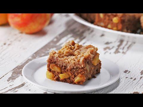 Nina Jackson - Thanksgiving Recipe: Apple Crumble Blondies