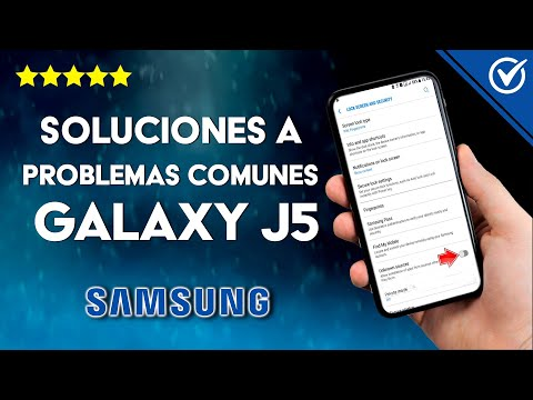 ¿Cuáles son los Principales Problemas del Samsung J5? - Todas las Soluciones