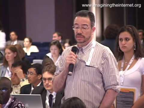 IGF Egypt 2009 Main Session on Management of Critical Internet Resources: Alejandro Pisanty