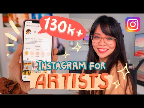 How to Grow Your Instagram as an Artist | Promote your Art in 2021