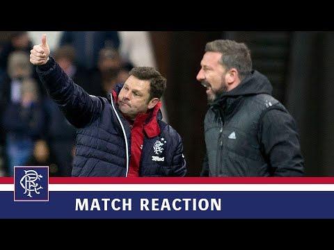 REACTION | Graeme Murty | Rangers 3-0 Aberdeen