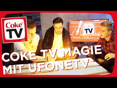 MafuyuX und UFONETV lernen Zaubertricks mit David Millert | #CokeTVMoment