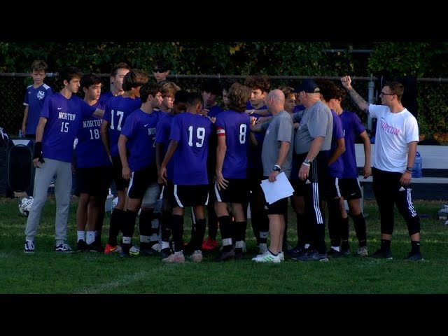 Norton vs Norwood Boys Varsity Soccer 10/12/21
