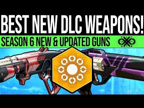 Destiny 2 | The BEST Season 6 WEAPONS! New God Rolls, Top Exotics, Jokers Wild Weapons & Catalysts! thumbnail