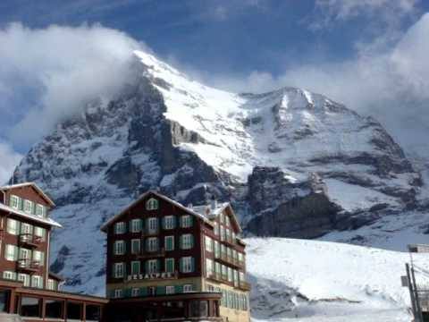 The Swiss Alps, The Eiger, The Monch and Jungfrau by Travelgroupie MOV07425.MPG