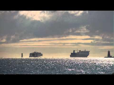 Ships leaving Dublin port