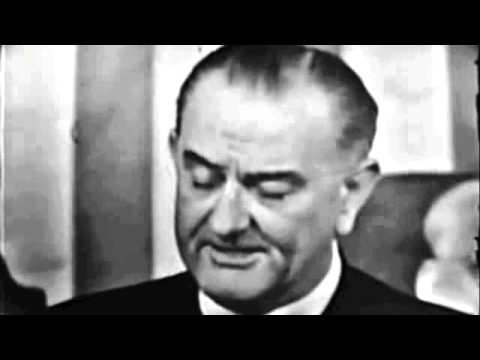 "LBJ ""Declares War on Poverty"" Address"