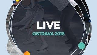 LIVE 🔴   Ice Dance Free Dance     Ostrava 2018