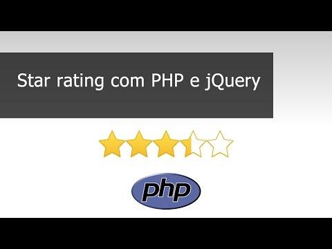 Star Rating Com PHP E JQuery