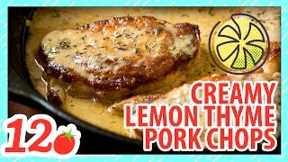 Creamy Lemon Butter Pork Chops