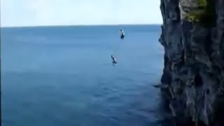 Top 10 Biggest CLIFF JUMPS In The World! (80ft-200ft)!!