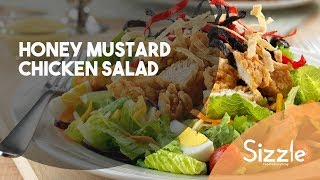 How to cook a Honey Mustard Chicken Salad | SIZZLE