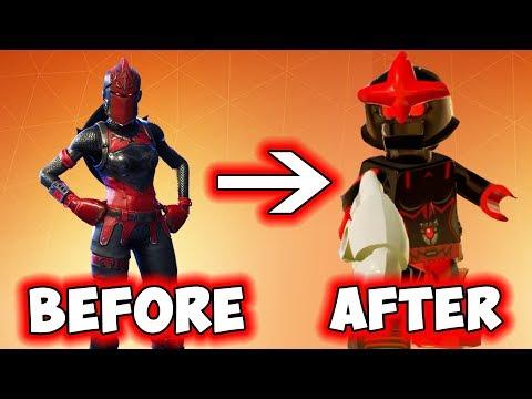 LEGO Fortnite Battle Royale Minifigure Red Knight