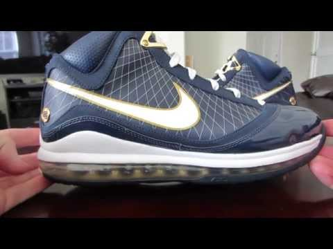 "Nike Air Max Lebron VII 7 ""Akron"" On Feet Review - #ThrowBackThursday"