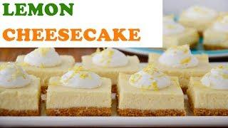 Lemon Cheesecake Recipe |नींबू चीज़केक रेसिपी| how to prepair Lemon Cheesecake | Cookery school