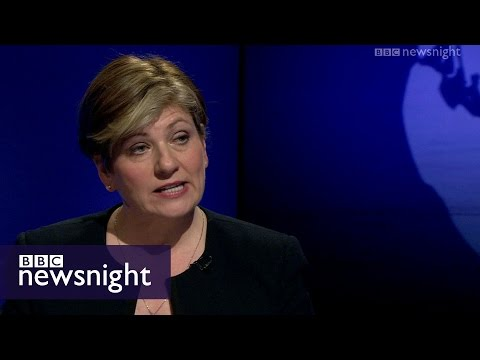 Where does Labour stand on Trident? Emily Thornberry - BBC Newsnight