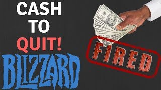 Blizzard Pays 100+ To Quit! Demands More Cost Cutting