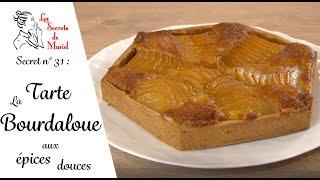 Ma recette inédite de tarte Bourdaloue ! On fait nos poires pochées maison // Les Secrets de Muriel