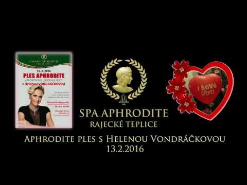 Valentínsky ples v  SPA APHRODITE  Rajecké Teplice 2016 s H. Vondráčkovou