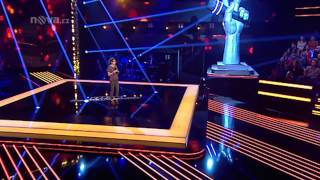 Barbora Drotárová zpívá I Follow Rivers od Lykke Li - Hlas -- Výběr naslepo - 2. sezón