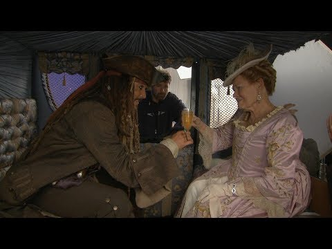 Johnny And Judi - Pirates of the Caribbean: On Stranger Tides behind the scenes(exclusive)