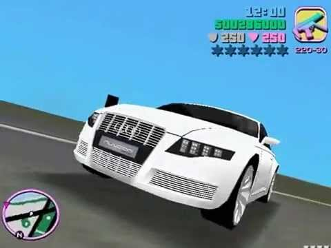 GTA Vice City Car Mods  Audi Nuvolari Quattro + cam hack li