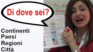 Imparare la Lingua Italiana - One World Italiano Video Corso - Lezione 9