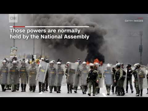 Violence at parade highlights escalating Venezuela protests