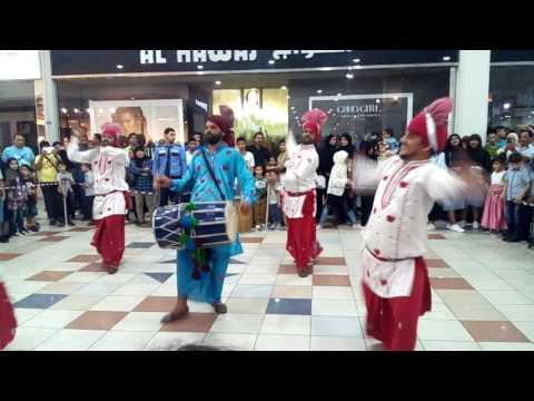 Punjabi Bhangra at Bahrain Mall