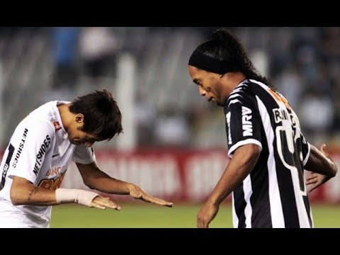 The Day that Ronaldinho Gave a DANCING to Neymar!
