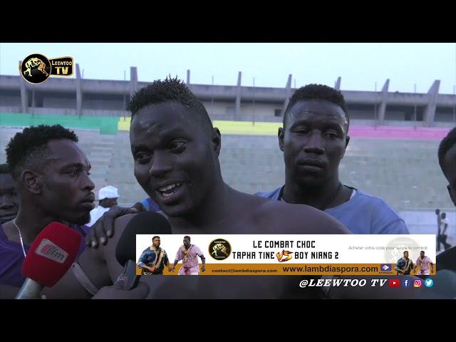 Iba Mar Diop: Boy Sine bat et terrasse Baba Maal en quelques secondes
