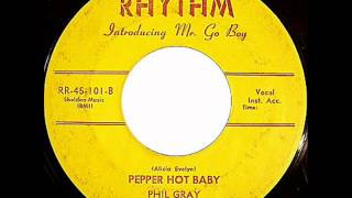 Phil Gray and his Go Boys  Pepper Hot Baby  RHYTHM 101 B
