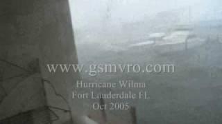 Yachts Crashing Hurricane Wilma Part 1 of 8