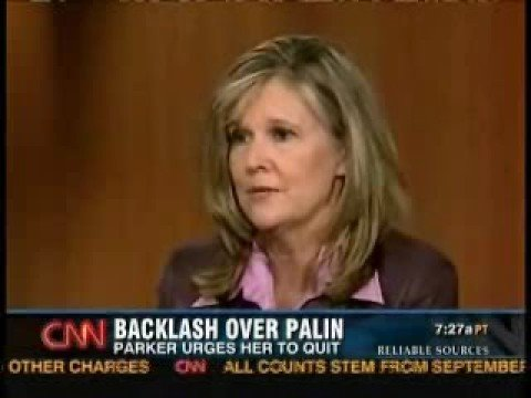 Kathleen Parker attacked by Right wing over Palin