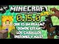 Minecraft PE 0.15.0 Build 1 - Realms - Y Los Pistones Y Nuevos Mobs - Pocket Edition