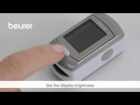 Quick start video for the PO 80 pulse oximeter by Beurer