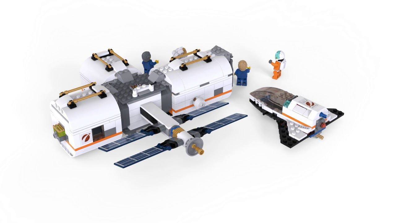 lego city lunar space station amazon - photo #4
