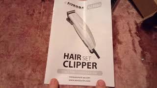 AVRORA AU 3080 Машинка для стрижки волос  Обзор Тест