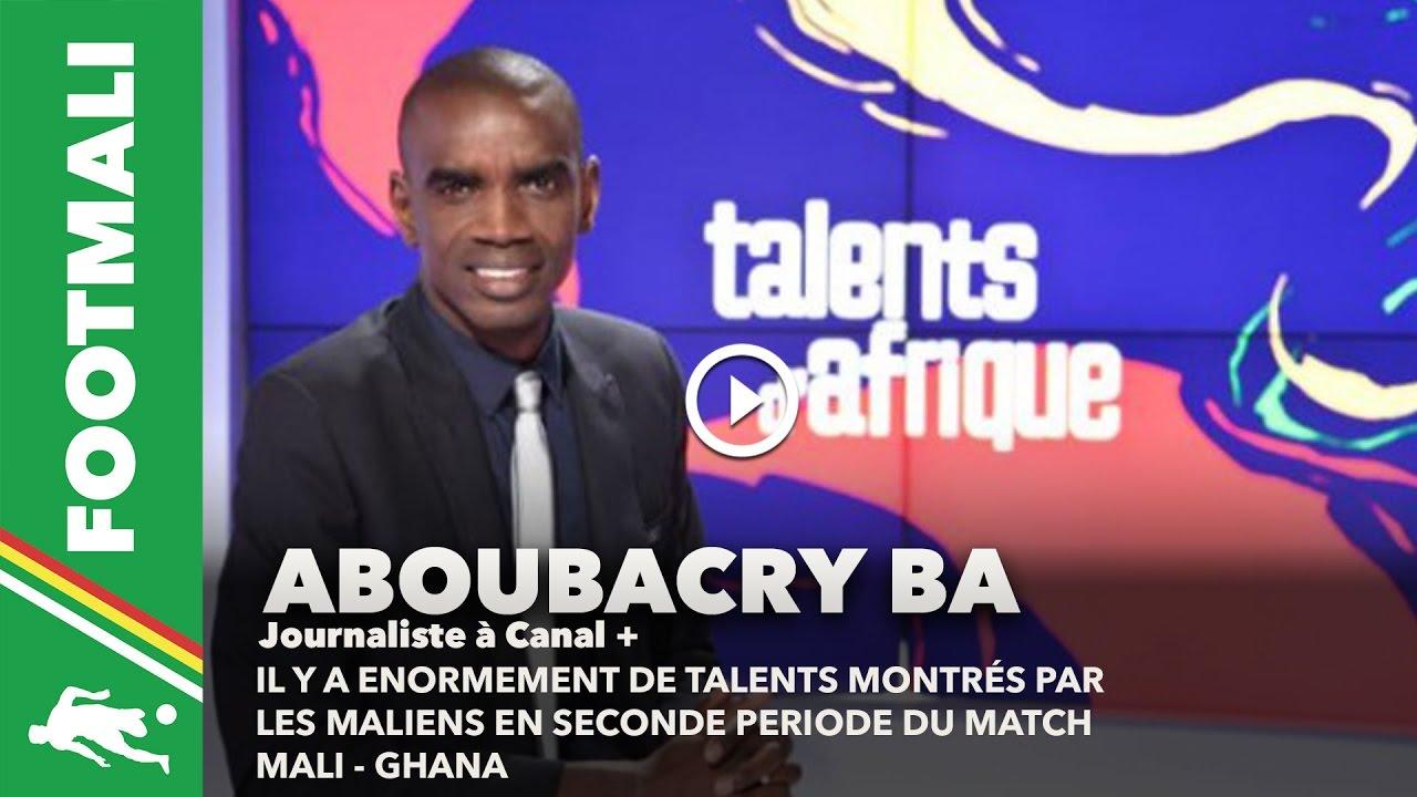CAN 2017 Aboubacry Ba Analyse Le Match Mali Ghana Au Micro De