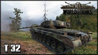 World of Tanks - Live: Der Dickkopf - T32 [ deutsch | gameplay ]